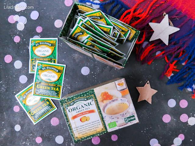 Органический зеленый чай с золотым манго St. Dalfour отзыв