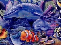 Imagenes de fantasia de delfines
