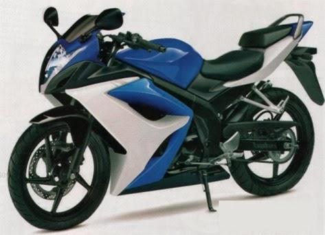 Desain Suzuki GSX-R600 akan di adobsi oleh next sport fairing 150cc Suzuki ? . . josss