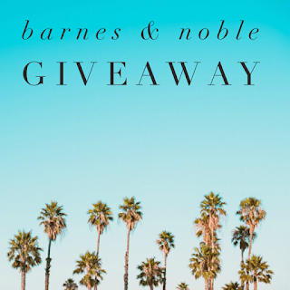 Enter the Barnes & Noble Giveaway. Ends 9/15. Open WW.