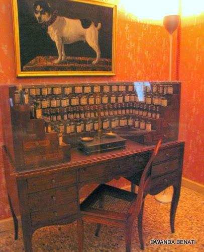 Venezia, Museo del profumo: l'Organo del Profumiere