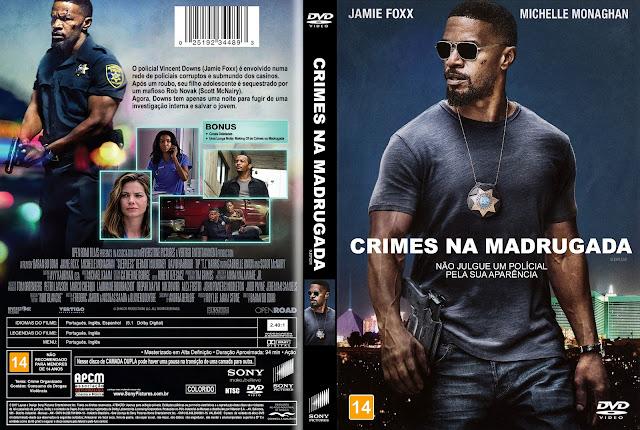 Capa DVD Crimes na Madrugada [Exclusiva]