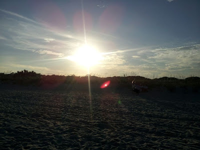 Focus on Life: Week 32 ~ From where I stand: Myrtle Beach, SC vacation... sunset on the beach! :: All Pretty Things