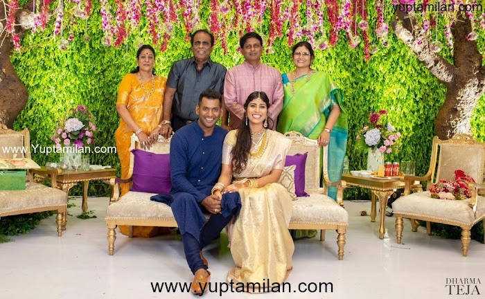Actor Vishal-Anisha Reddy Engagement Photos-Lovely Pics