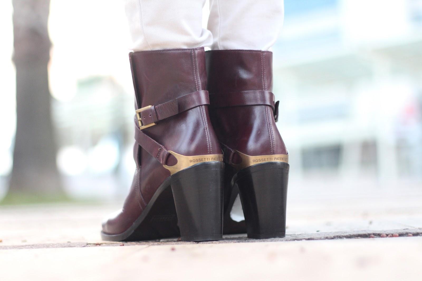 fashion moda style outfit fratelli rossetti shoes scarpe stivali boots bershka pants fur coat zara pelliccia gucci bag borsa wavy hairstyle headband hat pescata italy talia