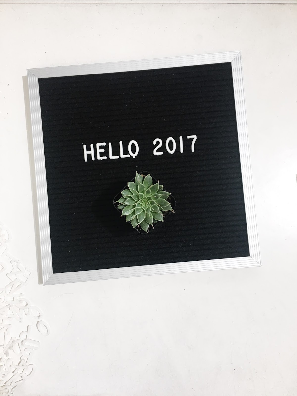 letter board 2017