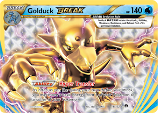 Golduck BREAK BREAKpoint Pokemon Card
