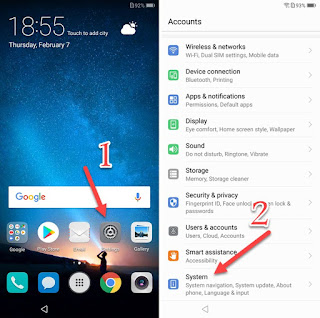 Forgotten PIN google account Huawei Mate 10 lite solution