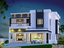 2555 Square Feet 4 Bedroom Contemporary House Plan