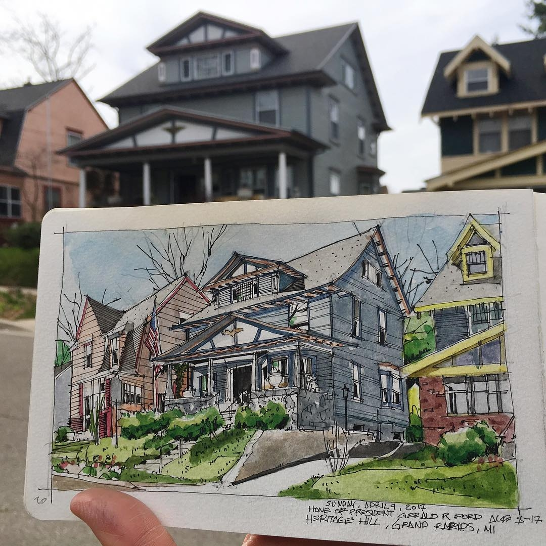 15-Wouldn-t-mind-Living-here-Josiah-Hanchett-Urban-Sketcher-taking-in-the-views-and-Drawing-them-www-designstack-co