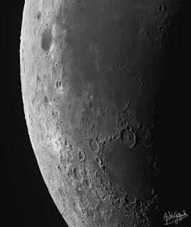 In orbit around the Moon!