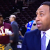 Cavs dancers videobomb Stephen A. Smith (Video)