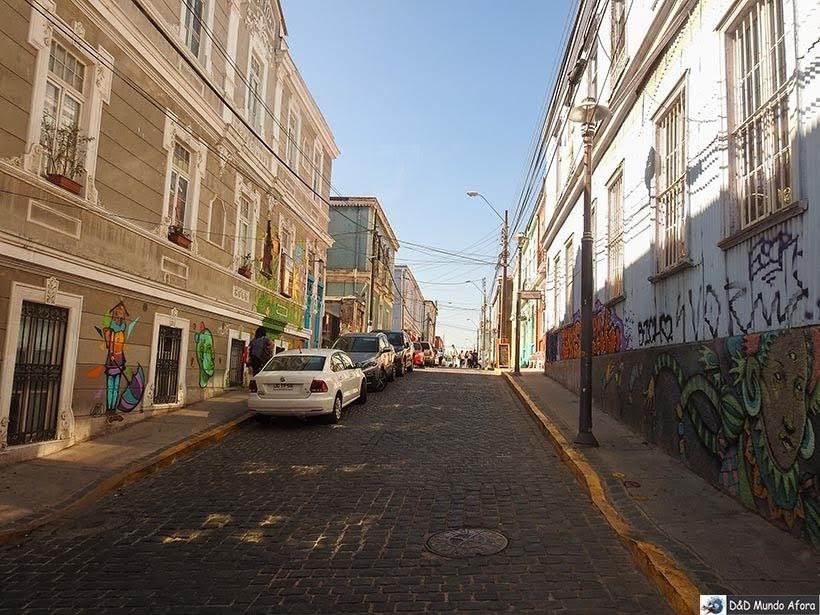 Ruas de Valparaíso - Diário de Bordo Chile: 8 dias em Santiago e arredores
