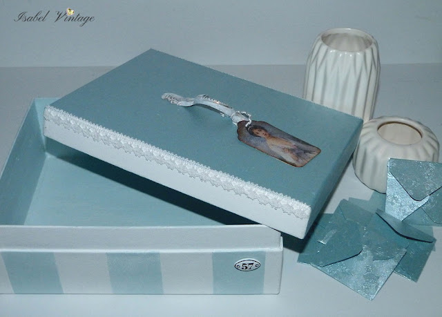 caja-carton-decorada-chalk-paint