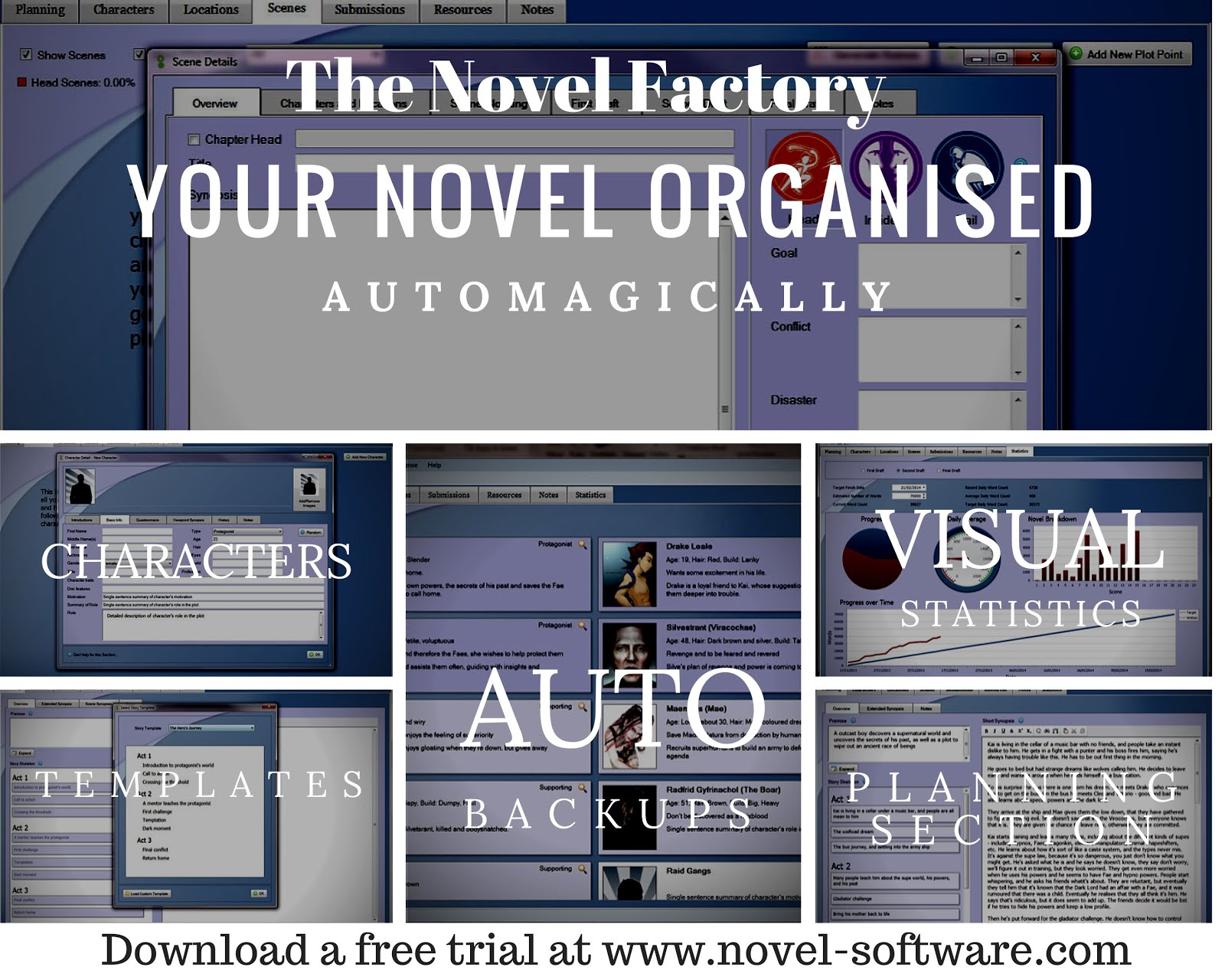 The Novel Factory