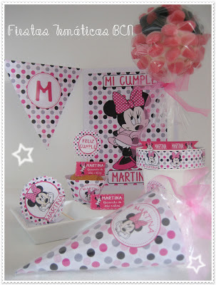 KIT DE FIESTA MICKEY o MINNIE IMPRIMIBLE
