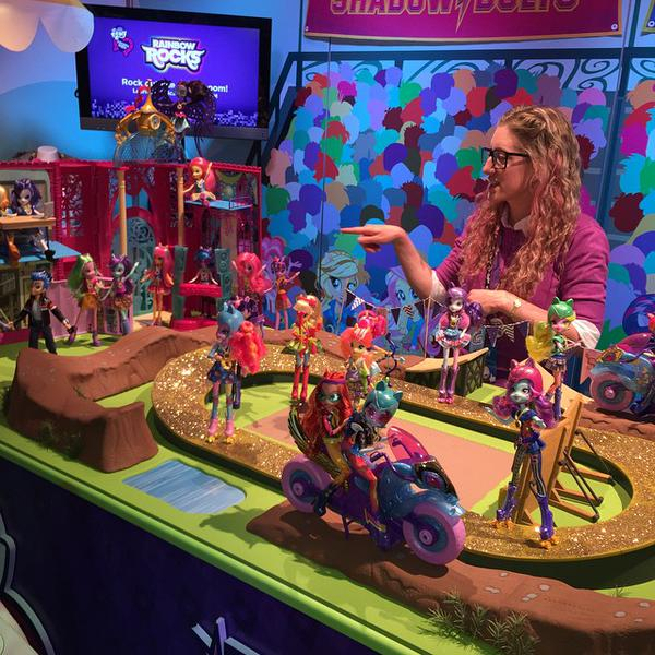 Equestria Girls Friendship Games Dolls at NY Toy Fair 2015