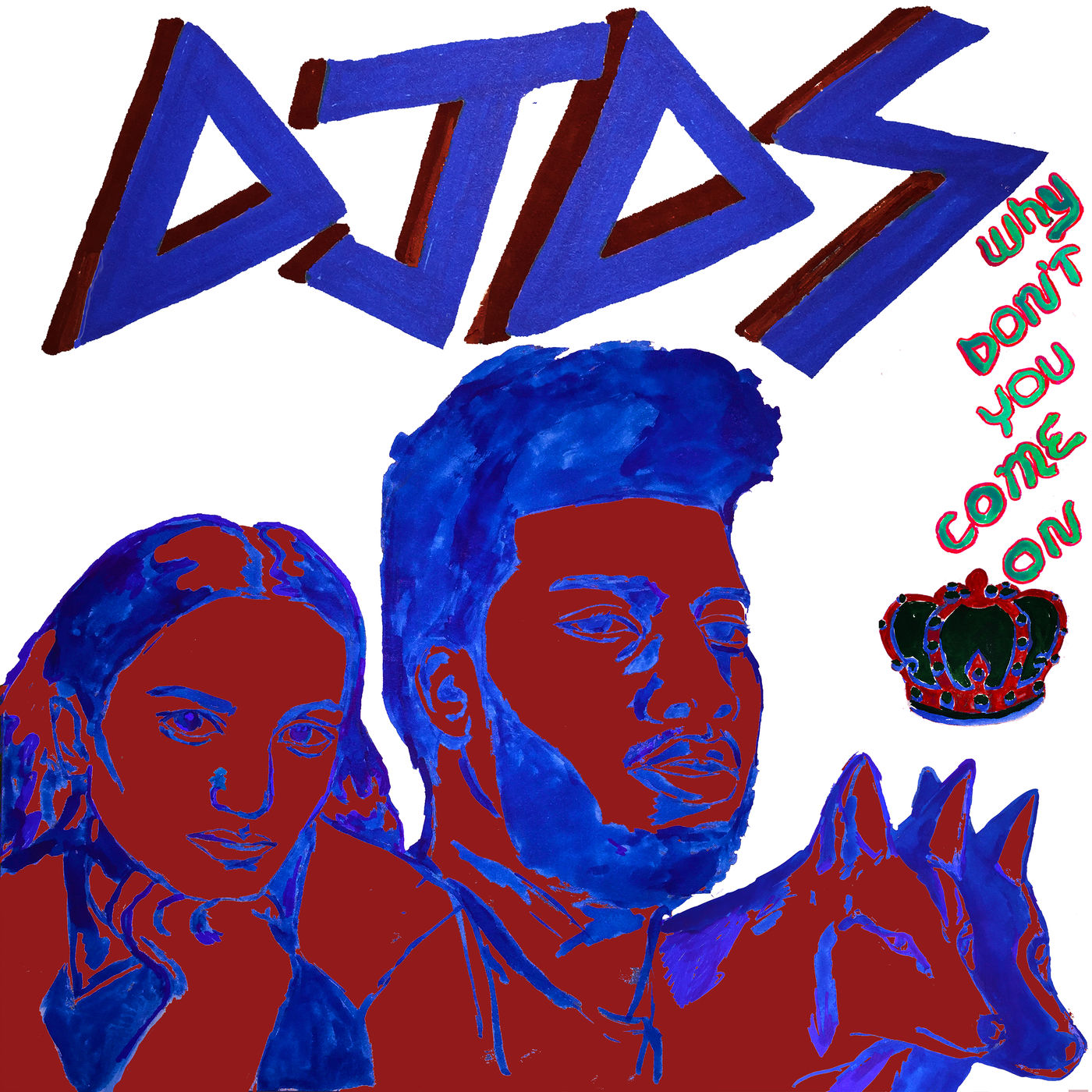 DJDS - Why Don't You Come On (feat. Khalid & Empress Of) - Single