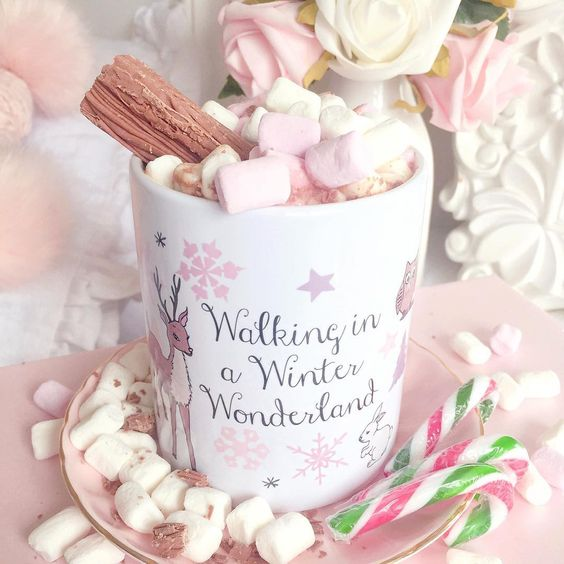 Love, Catherine | JillyJilly Winter Wonderland Hot Chocolate