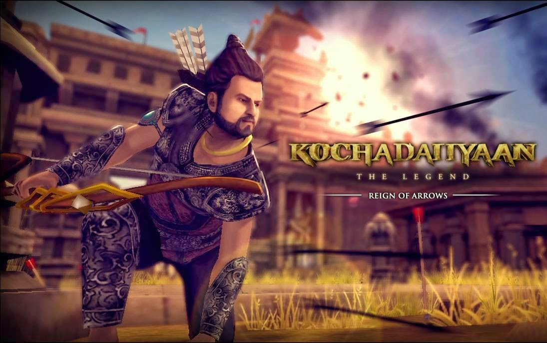 Download Game Android Kochadaiiyaan Reign of Arrows Mod Apk ( Unlimited Gold Coins )