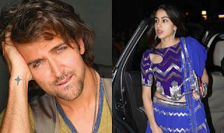 Saif Ali Khan's daughter Sara has acted to debut opposite Hrithik Roshan.
