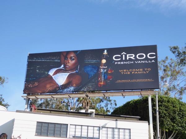 Ciroc French Vanilla vodka billboard