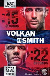 Watch UFC Fight Night 138: Volkan vs. Smith Online Free 2018 Putlocker