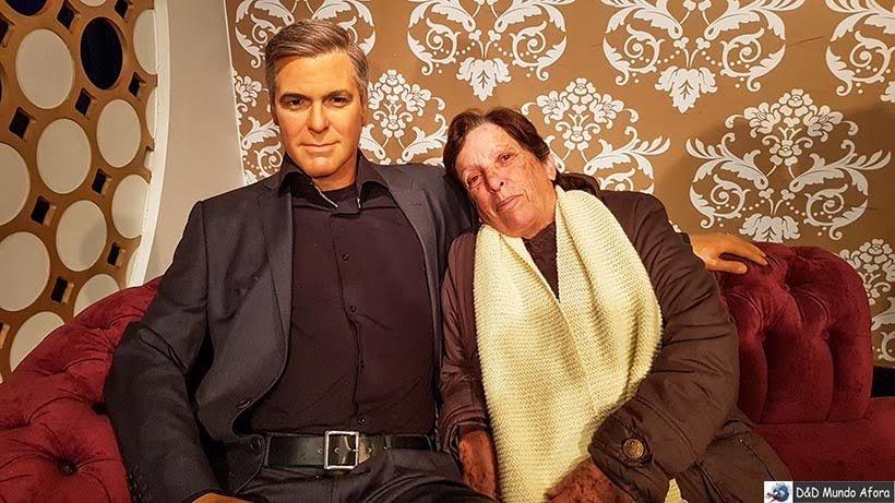 George Clooney - Madame Tussauds: Como visitar o museu de cera de Londres