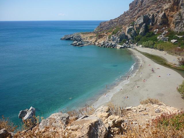 spiaggia di preveli a creta