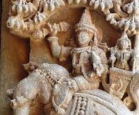 Indra mit Vajra