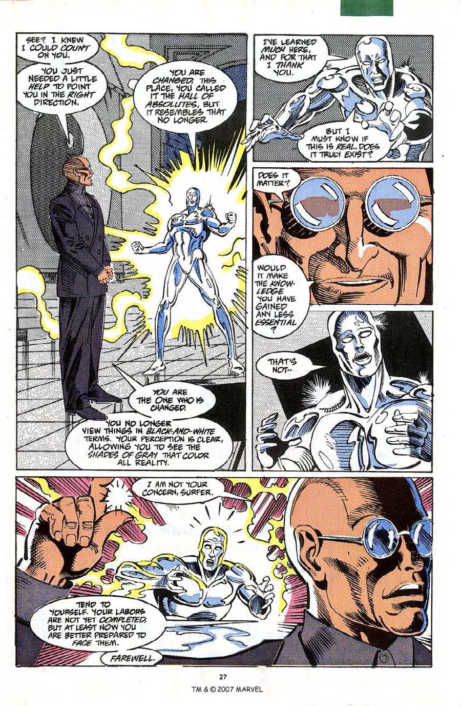 Read online Silver Surfer (1987) comic -  Issue #58 - 29