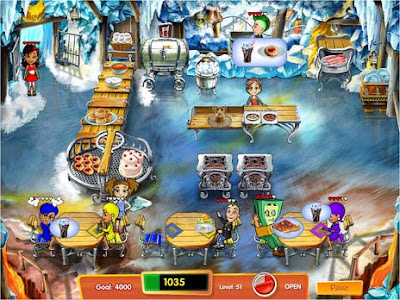 Cooking Dash 3 Thrills and Spills Collectors Edition Full Version