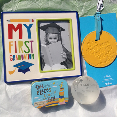 #LoveHallmarkCA Celebrate Dads and Grads: My Frist Graduation Frame, Dr Seuss Luggage Tag, Dr Seuss Gift Card Tin ~ #Review and #Giveaway