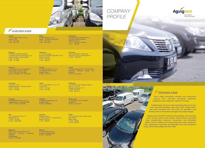 Desain Company Profile Rental Mobil
