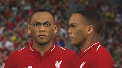 PES 2017 Faces Fabinho by Ben Hussam