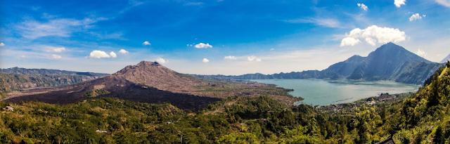 Bangli, a tourist area in Bali