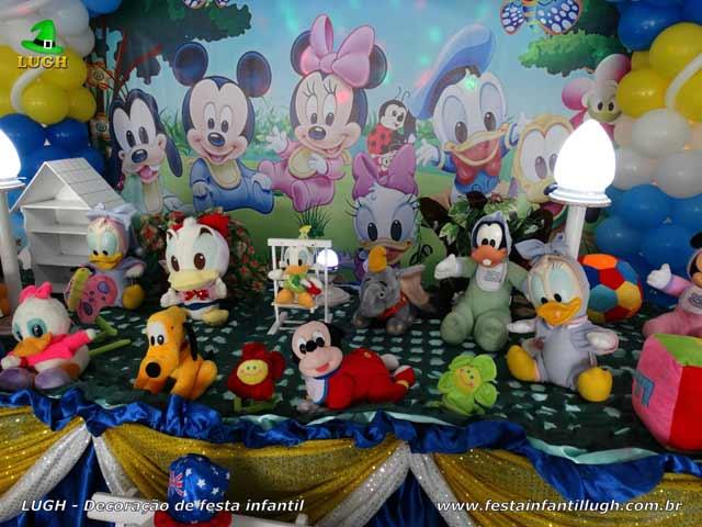 Decoração infantil Baby Disney - Aniversário