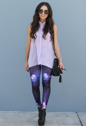 Society of Chic: SOC HIGHLIGHT: Galaxy Leggings