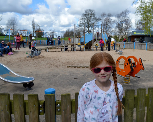 Exhibition Park Newcastle |  Under 5's play area near Wylam Brewery