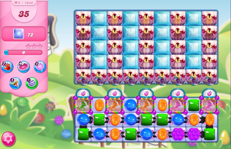 Candy Crush Saga level 7048
