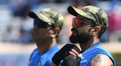 ICC Granted Permission To Wear Camouflage Military Caps