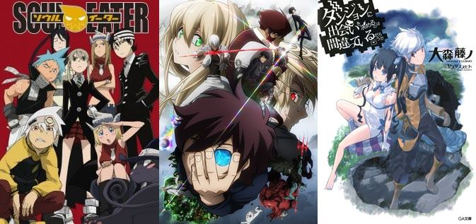 Soul Eater Ini Dia Anime Action Fantasy Terbaik