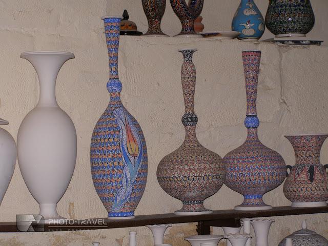Ceramika z Avanos - najwieksza atrakcja turystyczna Kapadocji w Turcji