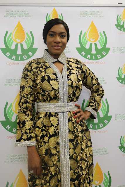 Chika Ike Supporting Charity Event