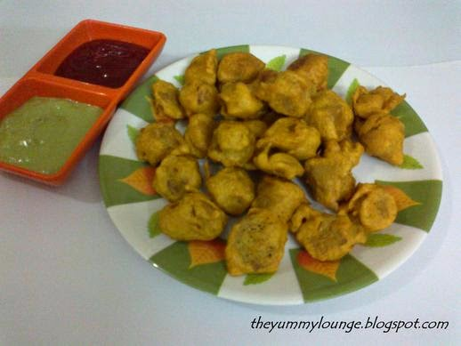 Nutrela Soya Chunks Pakora Recipe