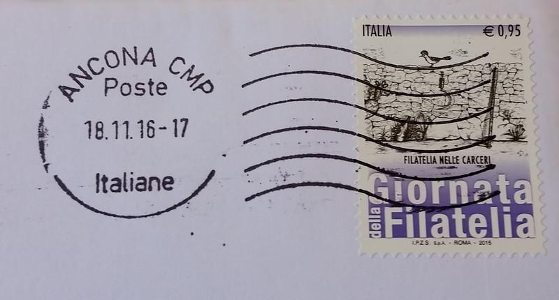 francobollo Filatelia nelle carceri
