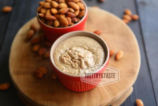 Resep Selai Kacang Almond (Almond Butter) JTT