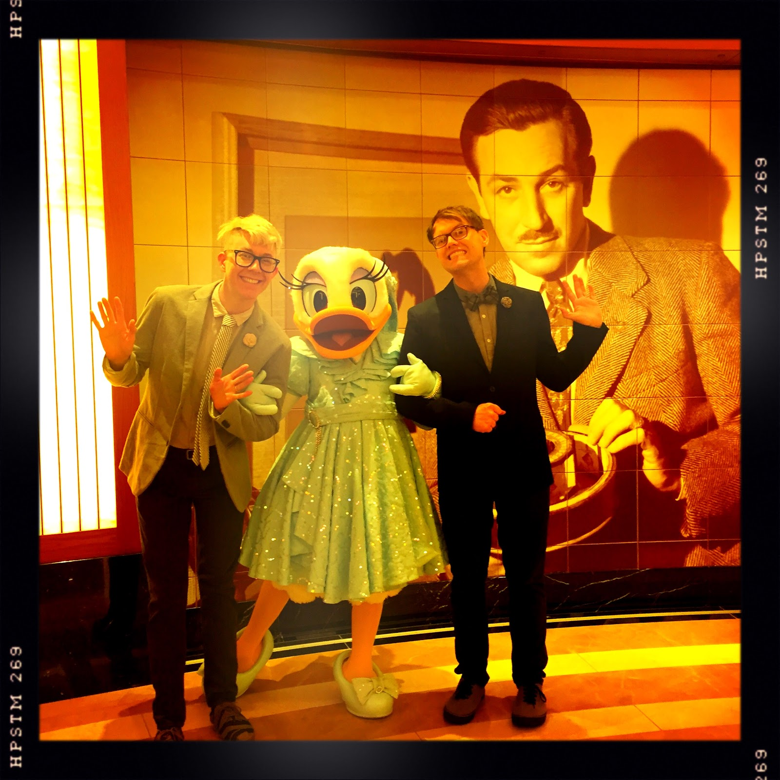 Disney hipster blog formal night character meet and greets by far our favorite main disney character to meet with is daisy she is ferocious and amazing her formal wear is also on point as if we would expect kristyandbryce Choice Image
