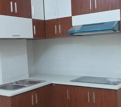 nội thất khu bếp chung cư mini doãn kế thiện