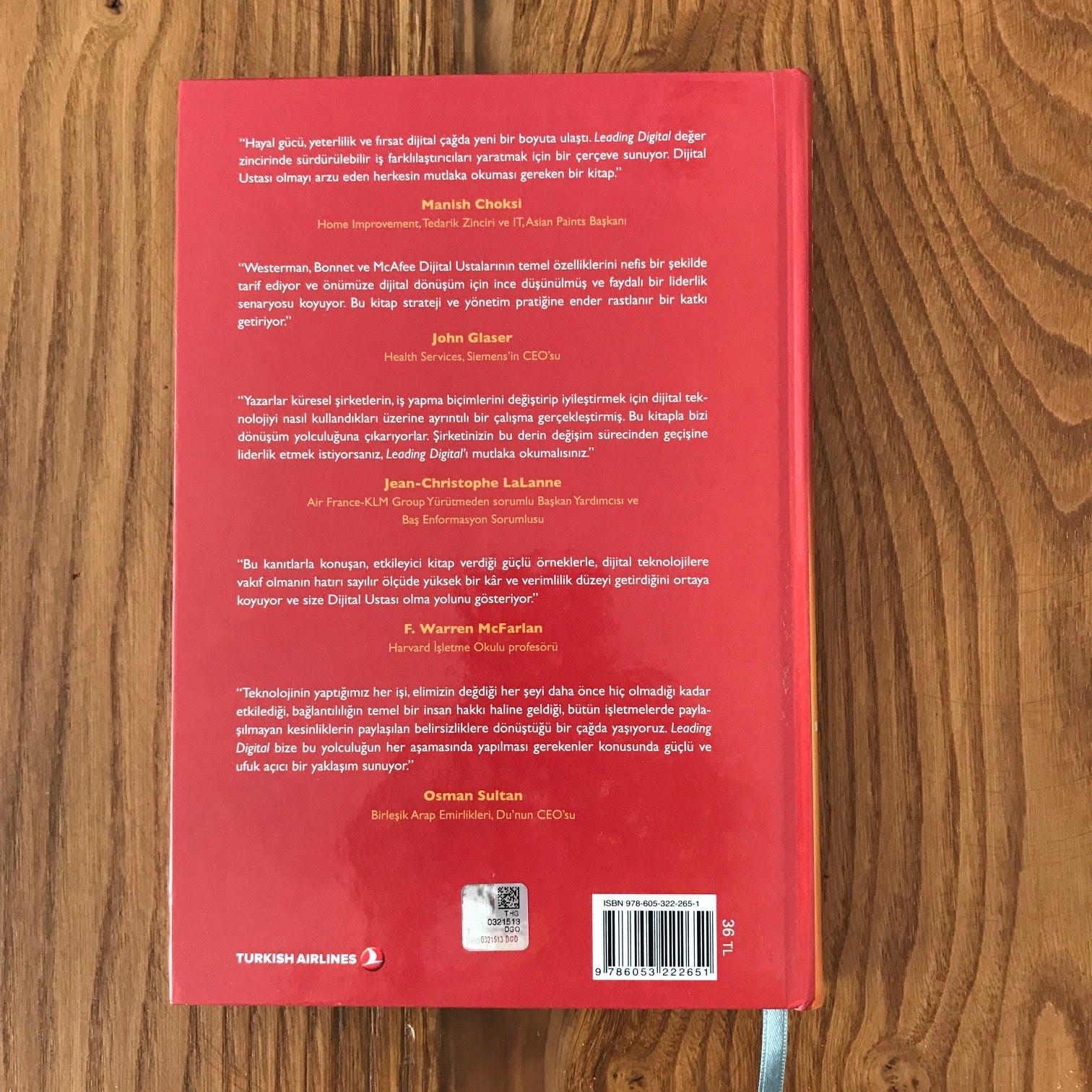 Leading Digital - Donusum Icin Teknolojiyi Kullanmak (Kitap)
